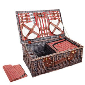 4 Person Picnic Basket Sets
